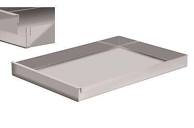 Business & Industrie Schnittkuchenblech Backblech Küchenblech 58x10x5 Cm Mit Rand Mit Steckschiene PüNktliches Timing Bäckereiausstattung