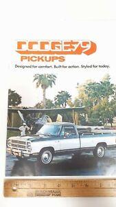 1979-DODGE-Pickups-Original-Colour-Sales-Catalog-Excellent-Condt-039-n-CDN