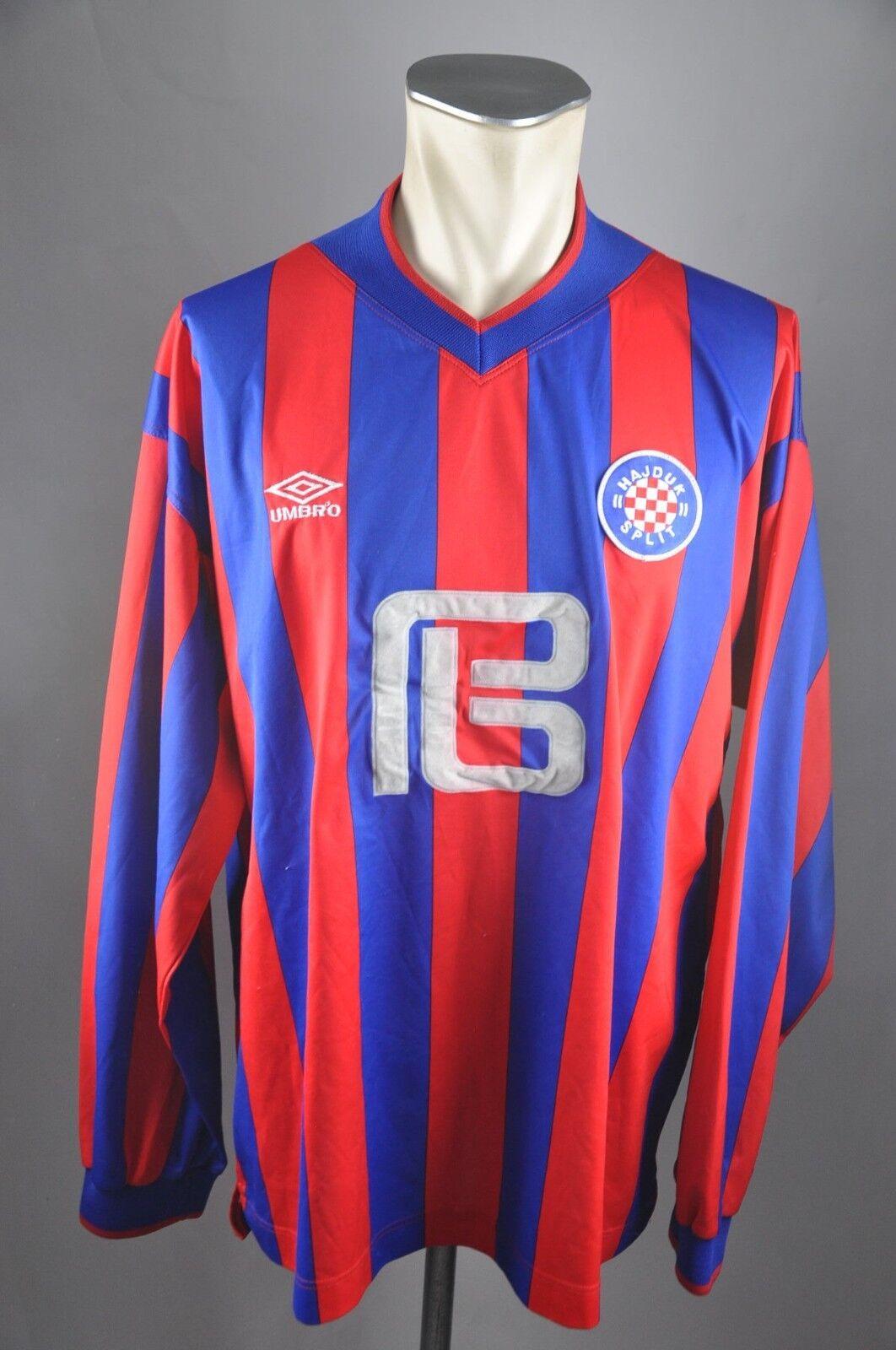 HAJDUK SPLIT Trikot Gr. XXL 2002-03 Away Shirt Jersey Umbro Shirt Kroatien LS