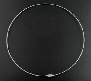 """5x 18/"""" Tiger Tail Wire Necklaces Choker Jewellery Beading Making DIY"""
