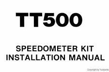 Yamaha Tt500 Velocímetro Kit Manual Xt Tt 500 qlit1