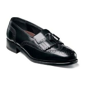 Florsheim-Mens-shoes-Lexington-Tassel-Loafer-Leather-Black-Lightweight-17073-01