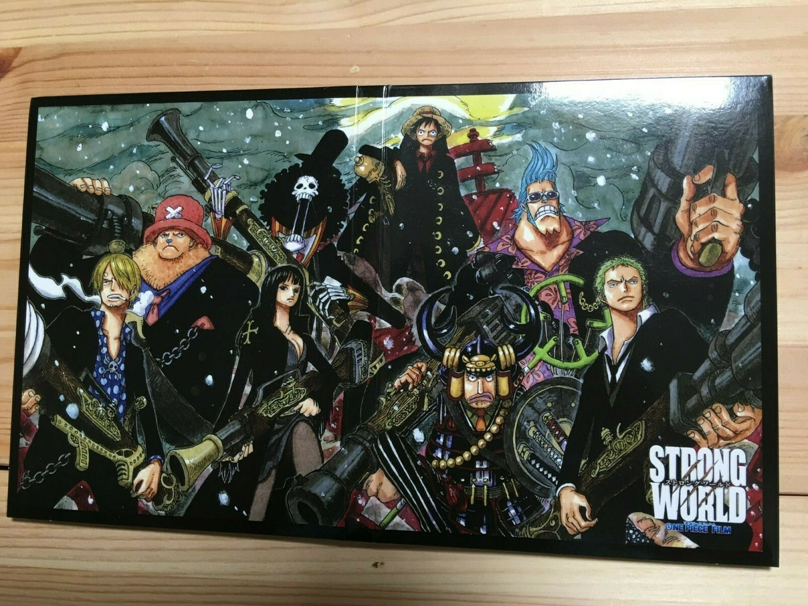 One Piece Film Strong World Blu Ray 10th Anniversary Limited