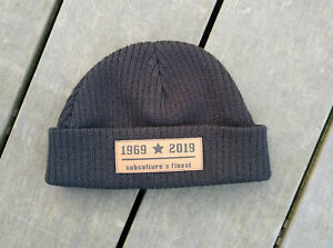 1969-2019-subculture-039-s-finest-Strickmuetze-knitted-fisherman-039-s-hat-docker-hat