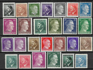 GERMANY-ADOLF-HITLER-STAMP-COLLECTION-PACKET-of-25-DIFFERENT-Stamps-MNH