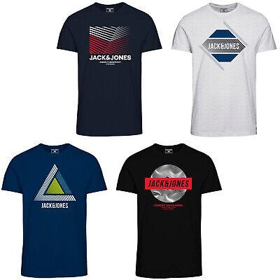 salario Situazione fatturabile  Jack & Jones Core T-Shirt Slim Fit Chest Logo Print Crew Neck s/s Mens Tee  | eBay