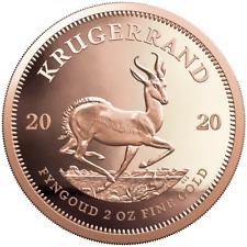 Südafrika - 2020 - Krügerrand - im Etui - 2 Oz Gold PP