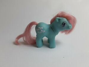 My-Little-Pony-G1-EU-UK-Baby-Bow-Tie-Vintage-Toy-Hasbro-1984-Collectible-MLP