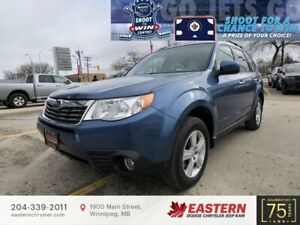 2010 Subaru Forester 2.5X | No Accidents | Sunroof | Backup Cam | Htd. Seats |
