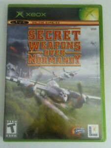 Secret-Weapons-Over-Normandy-Original-Xbox-Game-Complete-Lucas-Arts