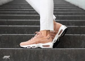Details about Nike Air Max 95 Dusted Clay Black Sail Uk Size 4.5 Eur 38 307960 200
