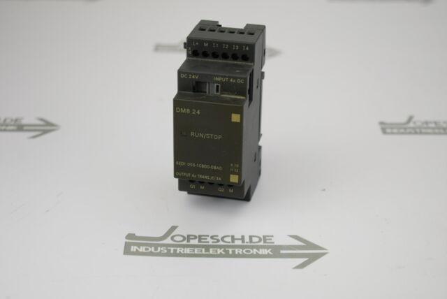 Siemens Logo Dm8 24-6ed1055-1cb00-0ba0 for sale online