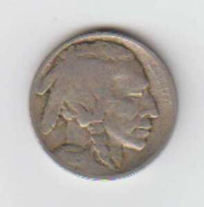 A1039: 1915 Buffalo Nickel, G-G+