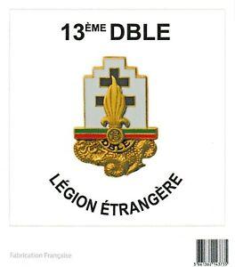 Autocollant-du-13-DBLE-13-DEMI-BRIGADE-de-la-LEGION-ETRANGERE-format-10-x-10-cm