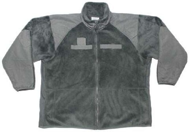 US ARMY l3 ACU Polartec 200 Fonction Fleece Veste Lettre vert Mr Medium Regular
