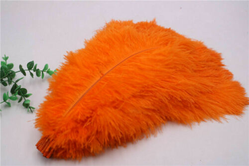 Wholesale 10-200 pcs high-quality natural ostrich feathers 6-24 inch//15-60cm