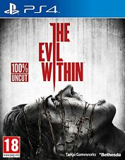 PS4 Spiel The Evil Within inkl. DLC The Fighting Chance Pack Uncut NEUWARE