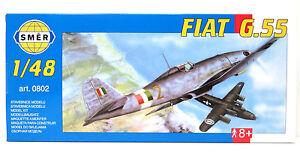 SMER-FIAT-G-55-Jagdflugzeug-WW2-Italien-Bausatz-1-48-0802