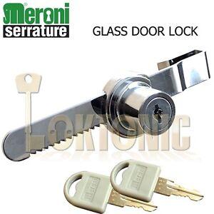Meroni-Ratchet-Glass-Sliding-Show-Case-Store-Display-Door-Lock-Cabinet-Drawer