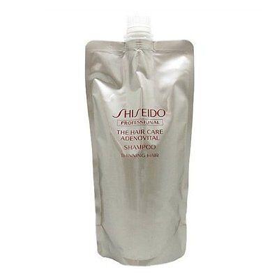 SHISEIDO ADENOVITAL Hair Shampoo Refill 450ml from Japan
