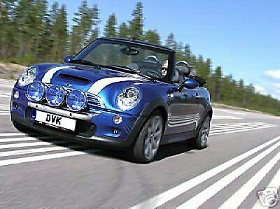 Bmw mini cooper bodykit accessories spotlight bar ebay Mini cooper exterior accessories