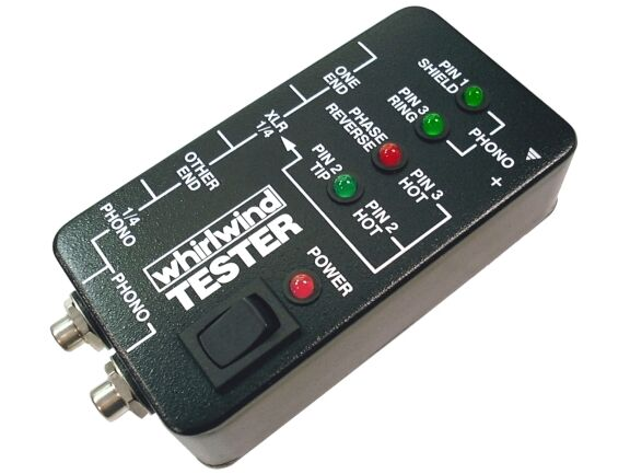 Audio Cable Tester : Whirlwind medusa audio cable tester xlr rca ebay