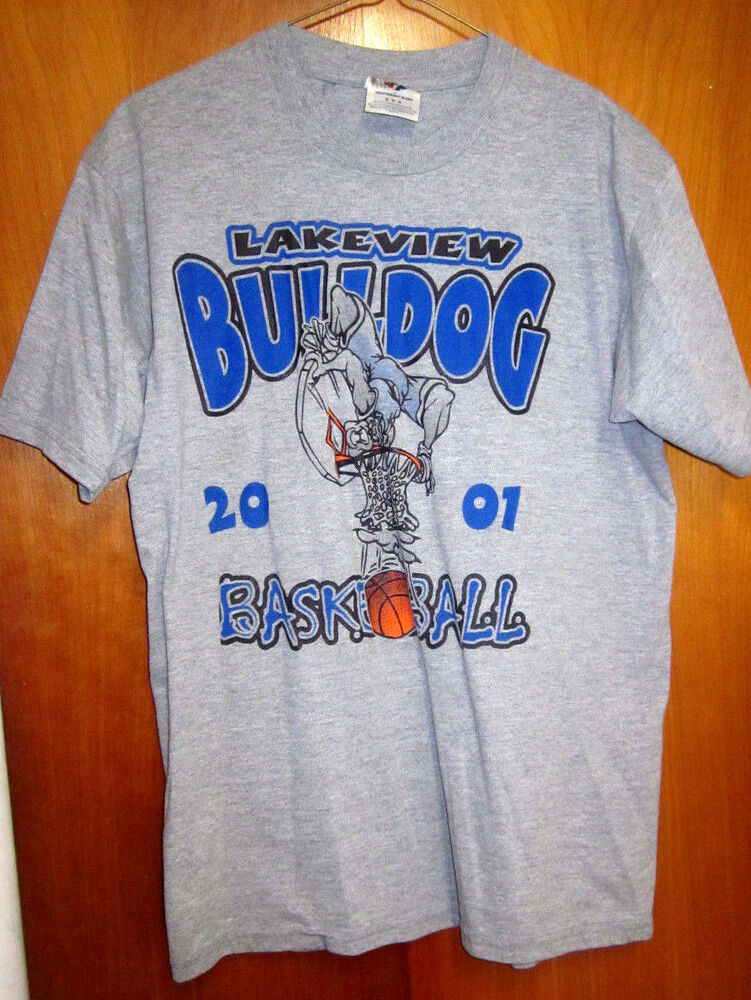 Lakeview bulldogs beat up t shirt ohio med high school for High school basketball t shirts