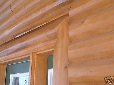 Northern White Cedar 1 2 Log Siding 3 X 8 Ebay