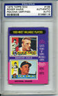 ROGER MARIS 1975 Topps Mini #198 SIGNED AUTOGRAPHED PSA DNA #8118 Yankees