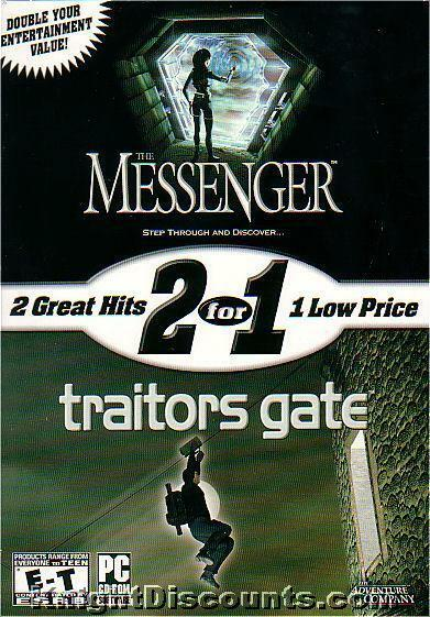 The Messenger Traitors Gate 2 For 1 Pc Games New Box 625904383105