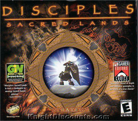 New Box Games : Disciples sacred lands strategy pc game new in box
