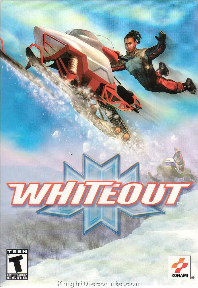 WHITEOUT SnowMobile Racing SnoCross PC Game NEW in BOX! 83717234302 | eBay