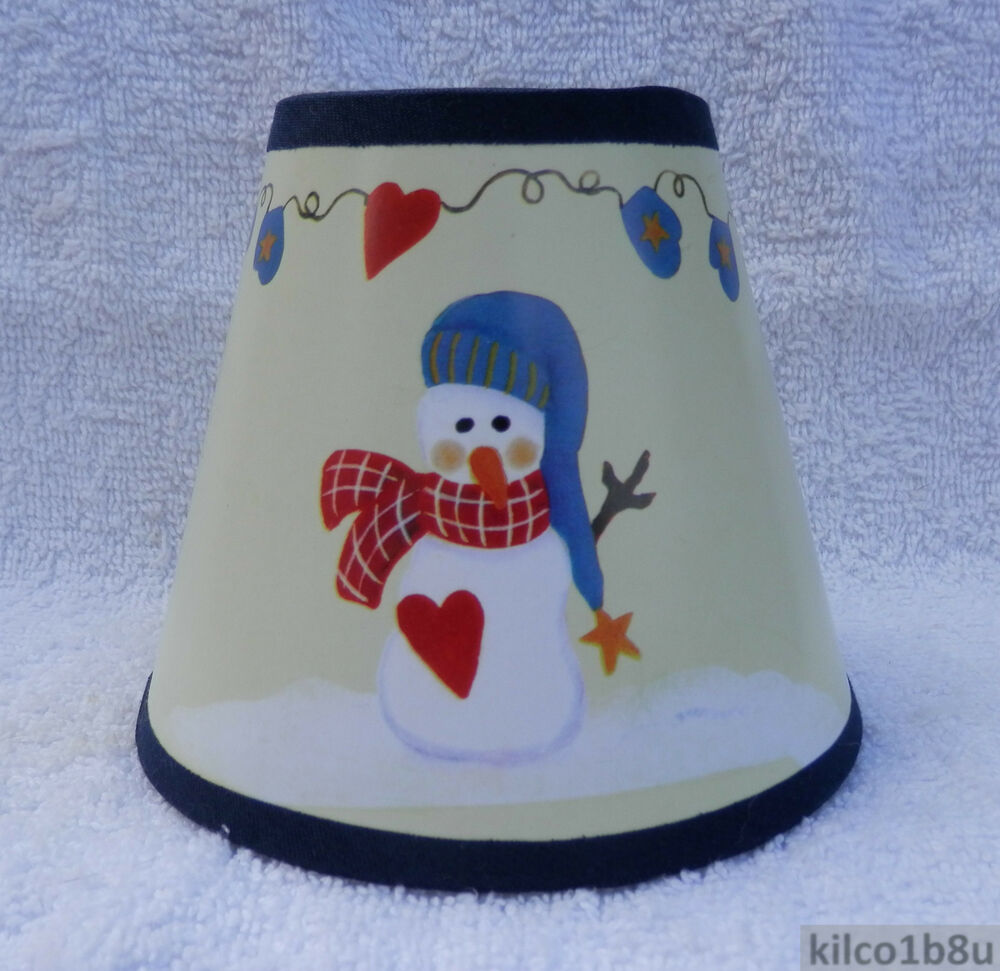 C Kays Snowman Multi Color Paper Chandelier Lamp Shade Traditional Any Room Ebay