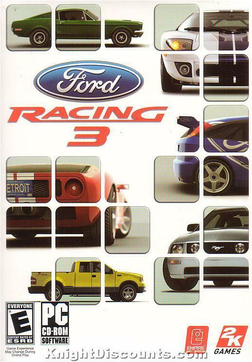 New Box Games : Ford racing iii sim pc game new box win xp