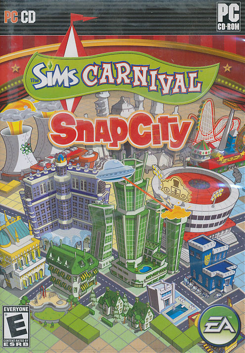 New Box Games : The sims carnival snap city snapcity pc game new in box