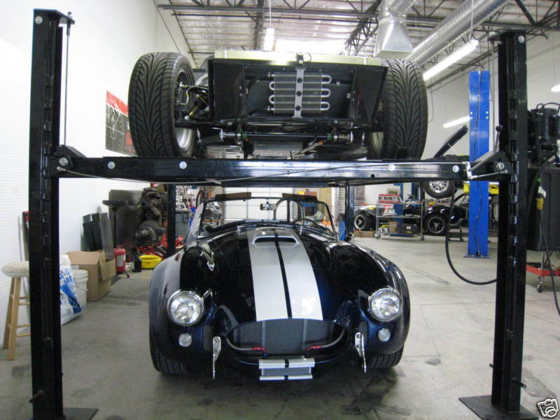 4 Post Car Lifts: FOUR POST AUTO LIFT 100% PORTABLE 7000 Lb Roll Around