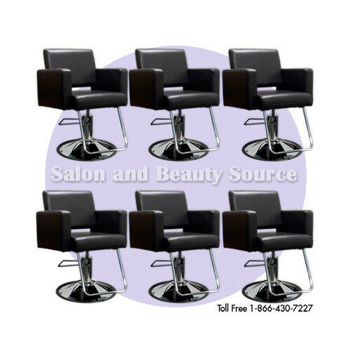 Styling chair beauty hair salon equipment furniture h6b ebay for Salon furniture makeup station