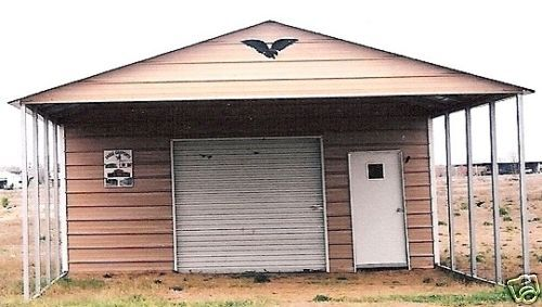 20 39 x 31 39 x 8 39 combo carport garage free install nation for Carport shop combo