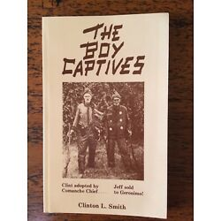 The Boy Captives, Clinton L. Smith,  Texas brothers captured by Indians