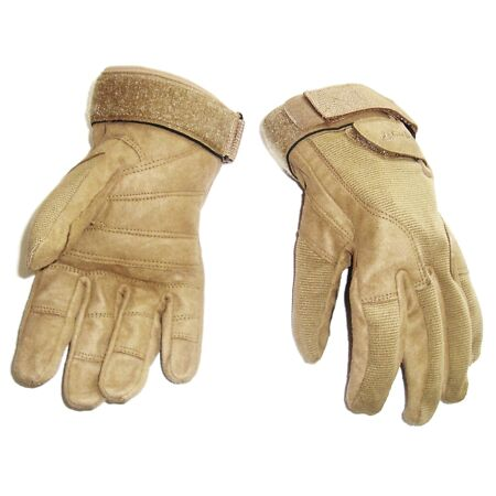img-HEAVY DUTY SPECIAL OPS GLOVES military work Army ultra tough mens XXL sand