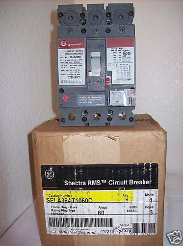 60a circuit breaker wiring diagram ge sela36at1060c 60a 600v 3poles circuit breaker w/srpe60a ... three phase circuit breaker wiring diagram #10