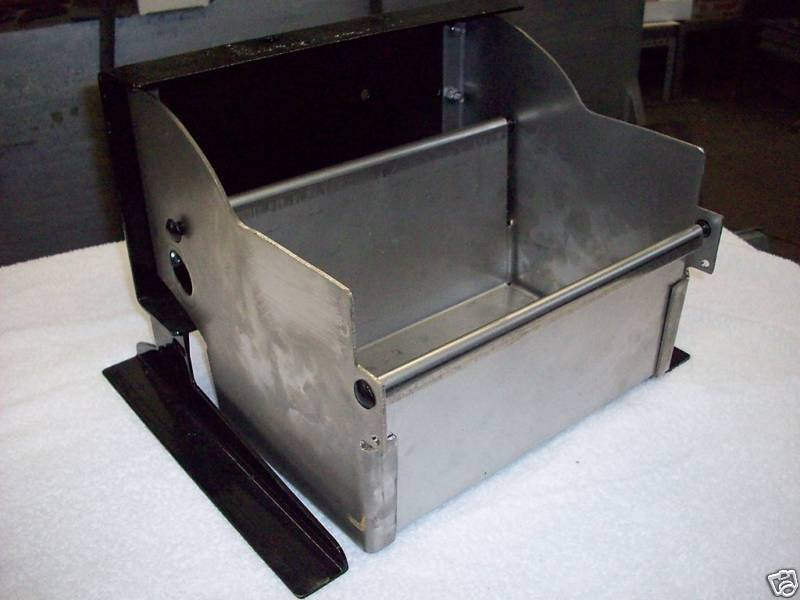 Pierce arrow stainless steel battery box tray bracket ebay