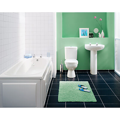Cheap bathroom installation 3 piece white bathroom suite for Cheap bathroom suites