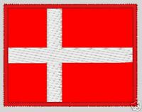 Flag of Denmark - embroidered patch