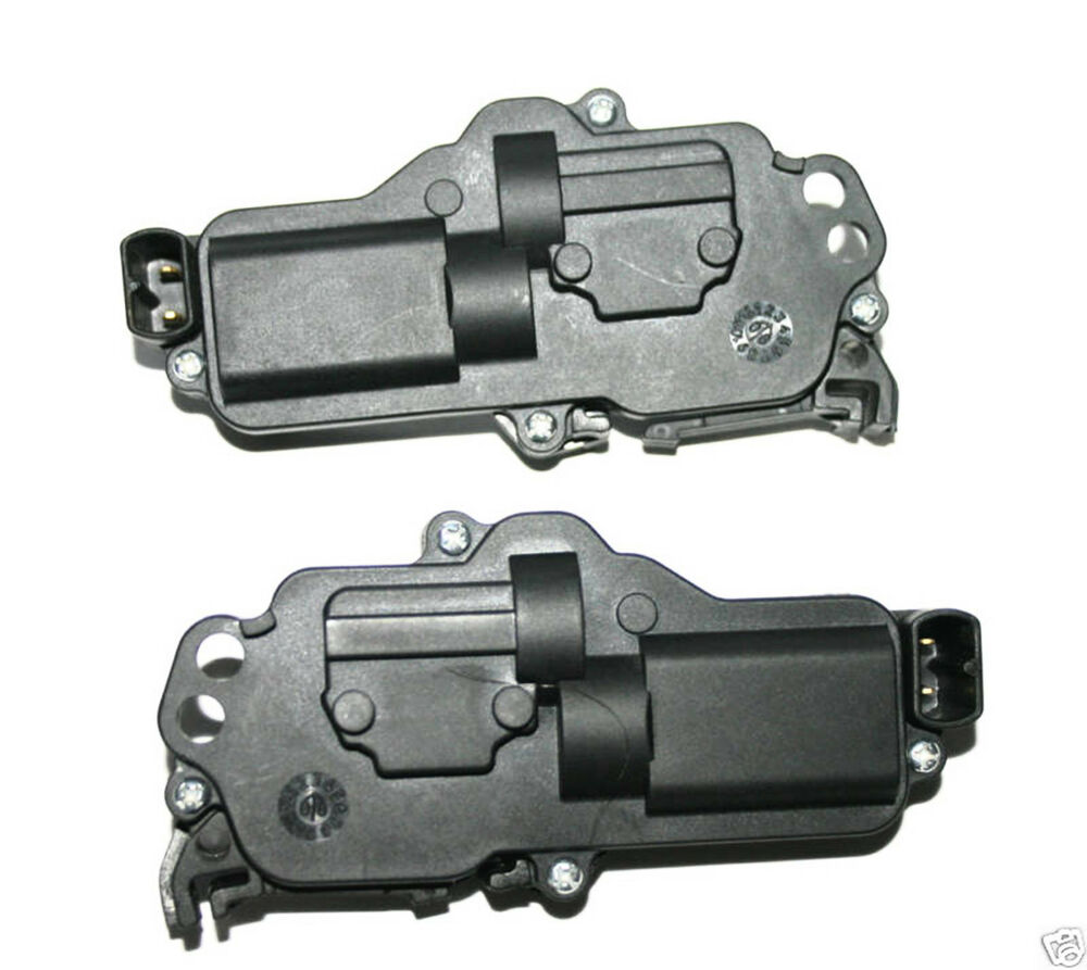 2001 01 ford mustang door lock actuator pair set new ebay for Door lock actuator