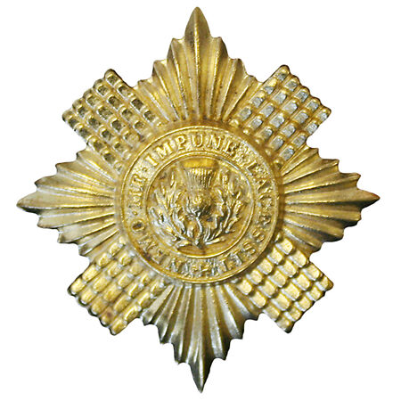 img-Official Scots Guards Issue Cap / Beret Badge ( INFANTRY Brigade of Guards
