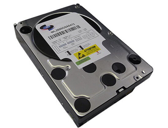White Label 2TB [64MB Cache] 7200RPM SATA/II Desktop 3.5