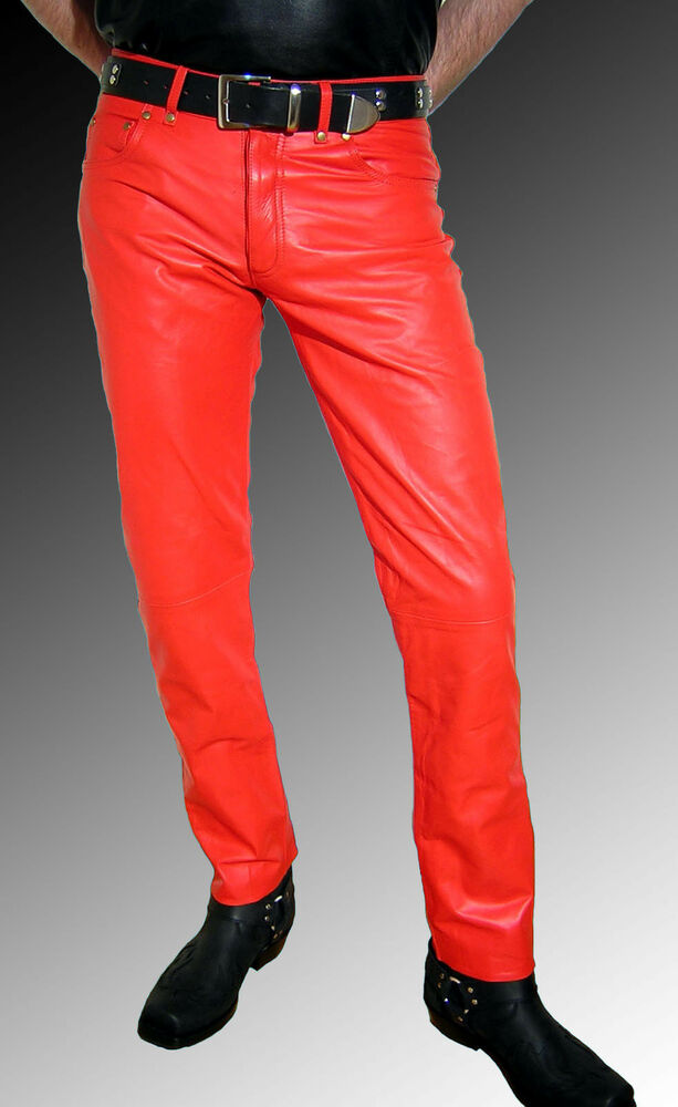 Find great deals on eBay for mens red leather pants. Shop with confidence.