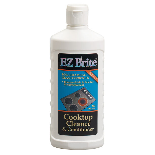 glass stove top cleaner ez brite glass amp ceramic cooktop cleaner amp conditioner ebay 12614