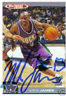 Mike James Signed 2005 Topps Total Milwaukee Bucks Card - COA - NBA - Bulls